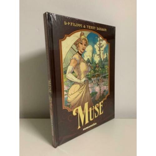 Comics Humanoids The Muse HC hardcover SEALED