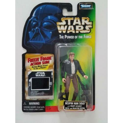 -40% Star Wars POTF FF Bespin Han Solo Heavy Assault Rifle
