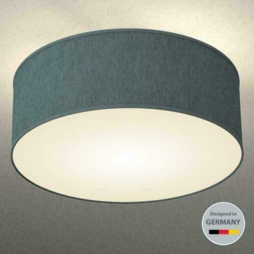 Stoffen Plafondlamp rond Grijs lamp led verlichting label AA
