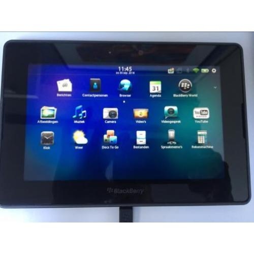 Blackberry Playbook 16GB met hoes